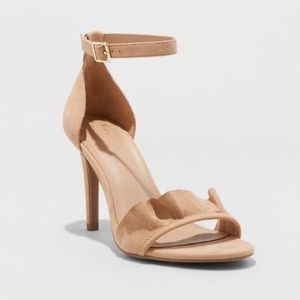 A new day ruffle heels